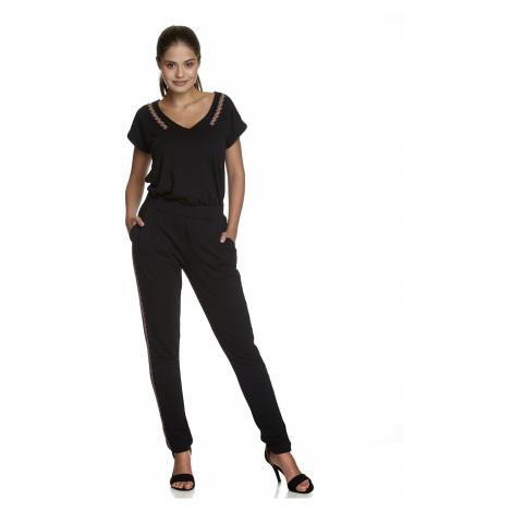 Bavlněné kalhoty černé Vive Maria Lovely Eva