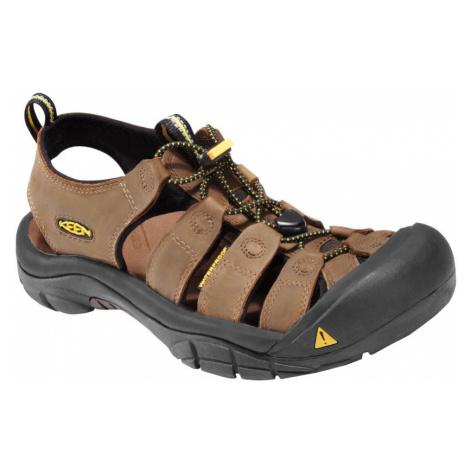 KEEN Newport M Pánské kožené sandály KEN1201000601 bisn