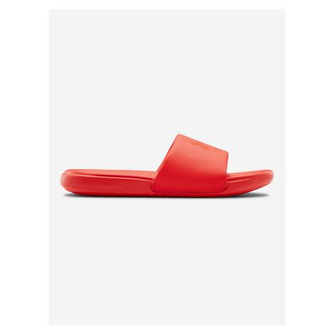 Ansa Fixed Pantofle Under Armour Červená