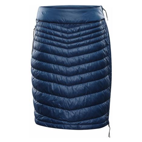 ALPINE PRO ELMARA Dámská sukně LSKS259684 blue wing teal