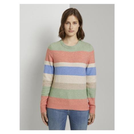 Tom Tailor Denim dámský barevný svetr 1021573