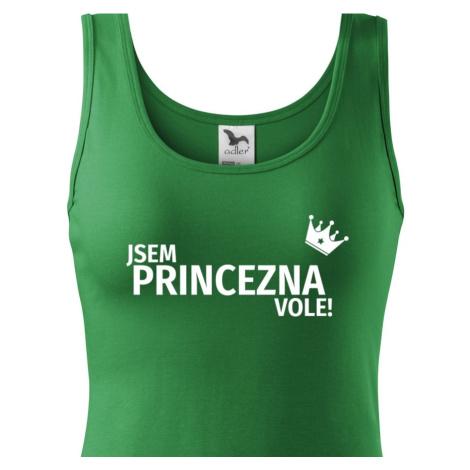 Dámské tričko Jsem princezna vole - s dopravou jen za 46 Kč BezvaTriko