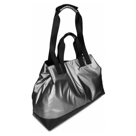 Stříbrná dámská sportovní taška Baťa