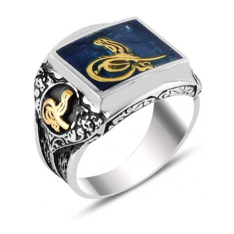 OLIVIE Pánský masivní prsten 3721