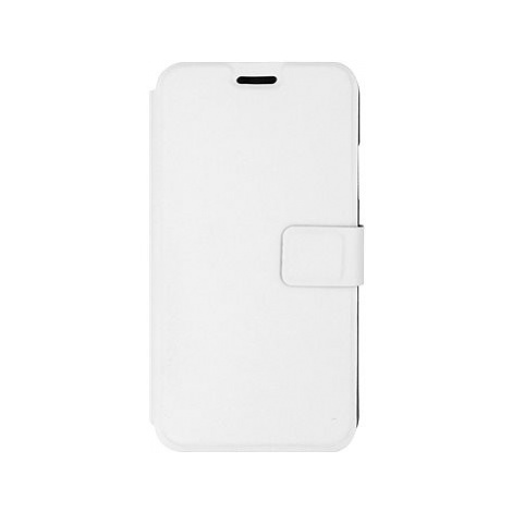 iWill Book PU Leather Case pro Apple iPhone Xr White