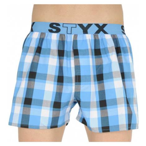Pánské trenky Styx sportovní guma vícebarevné (B834)