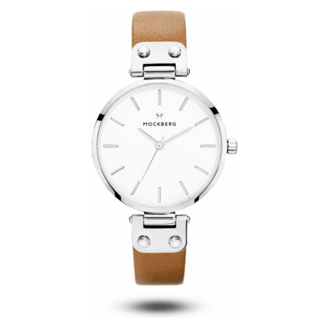 Hodinky Wera – Silver/Brown