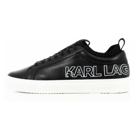 Tenisky Karl Lagerfeld Kupsole Tracer Logo Lo - Černá