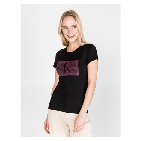 Monogram Triko Calvin Klein Černá