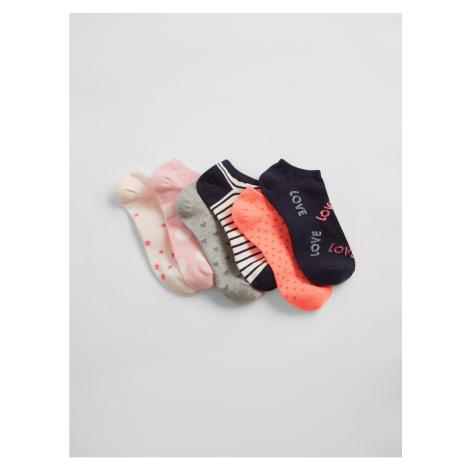 GAP Ponožky V-Spr Fsh Ankle, 6 Párů