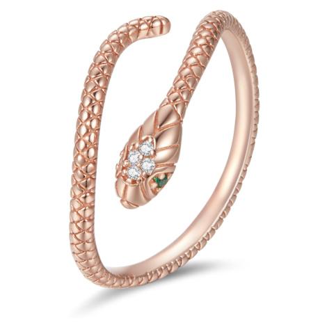Linda's Jewelry Stříbrný prsten Královna Hadů Rose Ag 925/1000 IPR101 Velikost: Univerzální