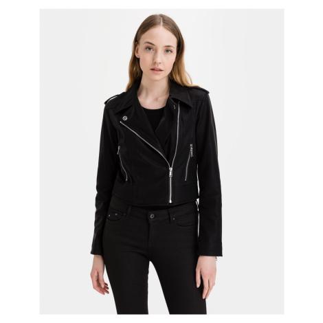 Guess černá koženková bunda New Khloe