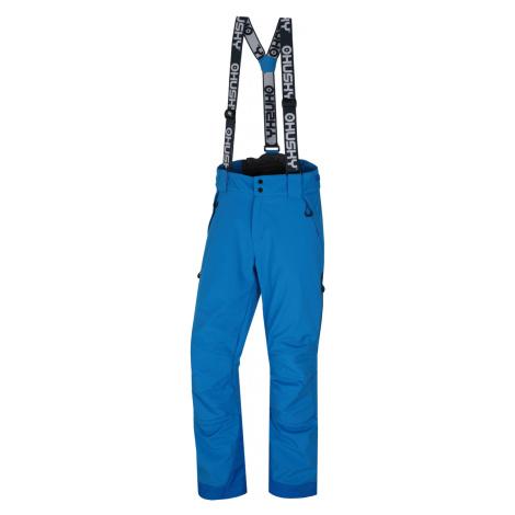 Husky Galti M, modrá Pánské lyžařské kalhoty