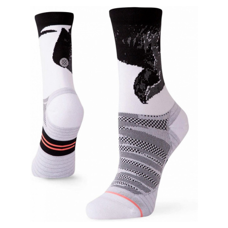 Běžecké ponožky Stance Lauren Fleshman Bird Crew bílé,