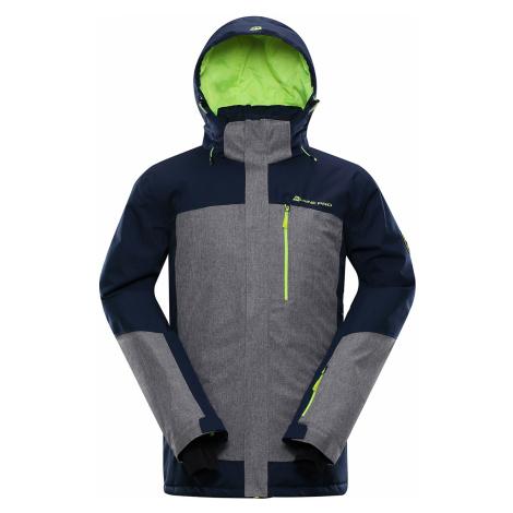 ALPINE PRO SARDAR 3 Pánská lyžařská bunda MJCP369602 mood indigo