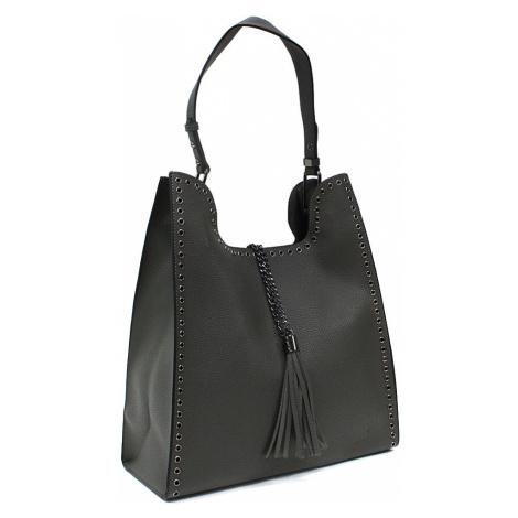 Šedý dámský kabelkový set 2v1 Karoline Mahel
