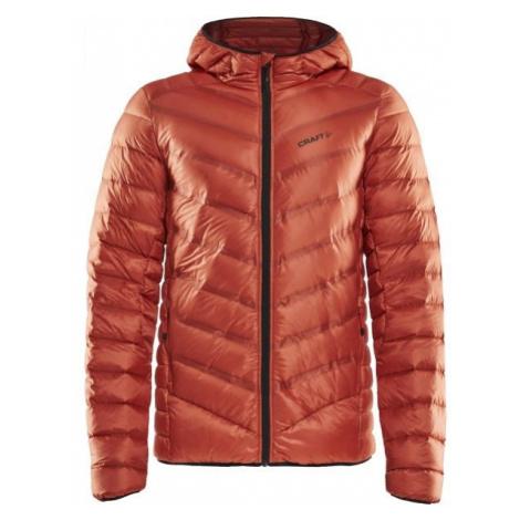 Craft LIGHTWEIGHT DOWN oranžová - Pánská zimní bunda