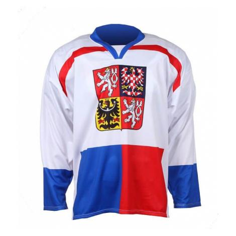 hokejový dres Replika ČR Nagano 1998 barva: bílá;velikost oblečení: M Merco