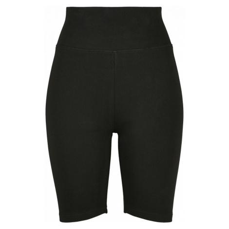 Urban Glassics Ladies High Waist Cycle Shorts 2-Pack - black/white Urban Classics
