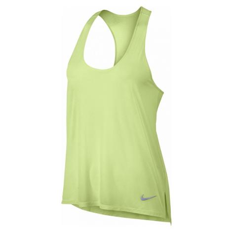 Dámské běžecké tílko Nike Breathe Světle zelená