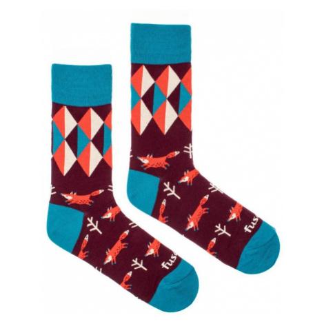 Ponožky s obrázky Fusakle