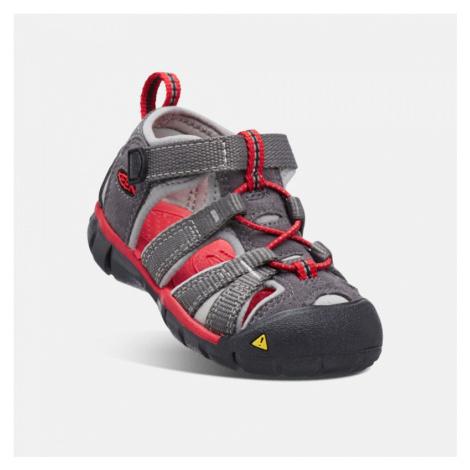 Dětské sandály KEEN Seacamp II CNX magnet/racing red