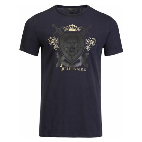 BILLIONAIRE Bravden Dark Blue pánské tričko