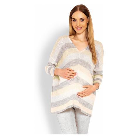 Těhotenský svetr model 114523 PeeKaBoo one-size-fits-all Pee Ka Boo
