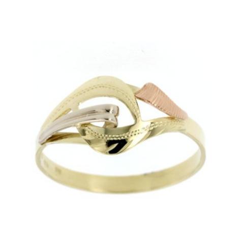 Dámský zlatý prsten 40822