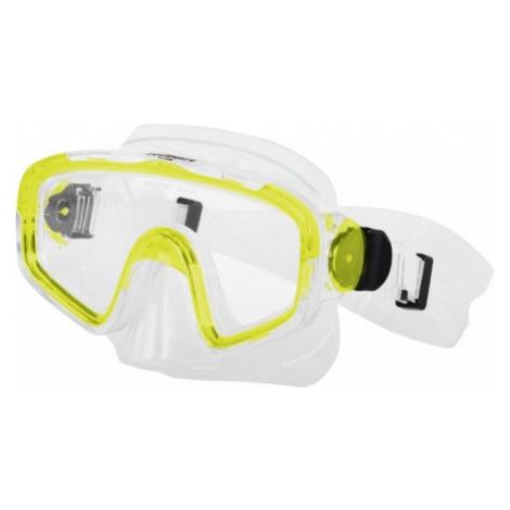 Miton TRITON žlutá - Potápěčská maska
