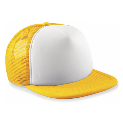 Kšiltovka Trucker žlutá Beechfield