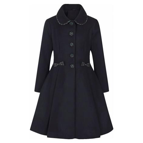 Hell Bunny Kabát Tiddlywinks Dívcí kabát tmavě modrá