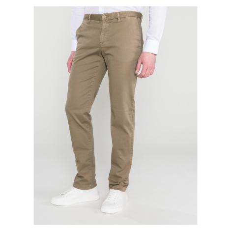 Kalhoty Trussardi Jeans Hnědá
