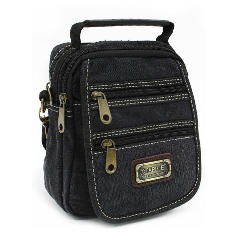 Černá pánská crossbody taška Cason Tapple