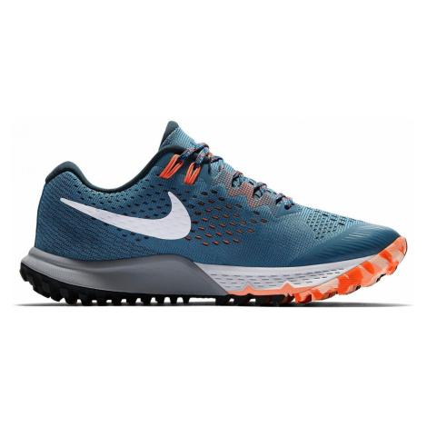 Dámské trailové boty Nike Air Zoom Terra Kiger 4 Modrá / Oranžová