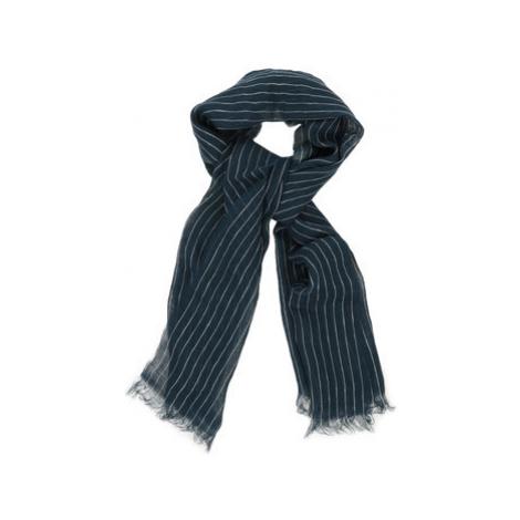 Gant Pinstripe Scarf Marine Modrá