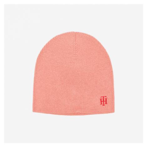 Tommy Hilfiger dámská světle oranžová zimní čepice