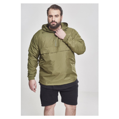 Bunda Urban Classics Basic Pull Over Jacket - olive