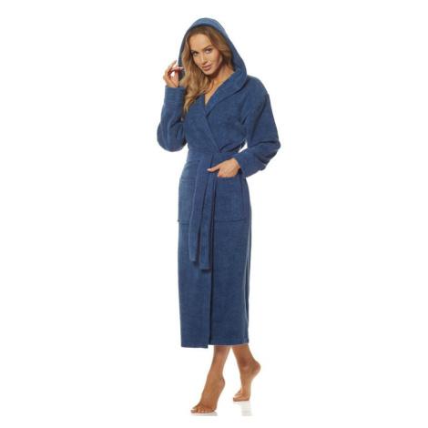Dámský župan Morgan modrý L&L Collection