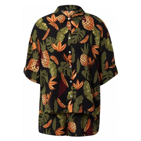 Trendyol Kalhotový kostým olivová / černá / vínově červená / mandarinkoná / tmavě hnědá