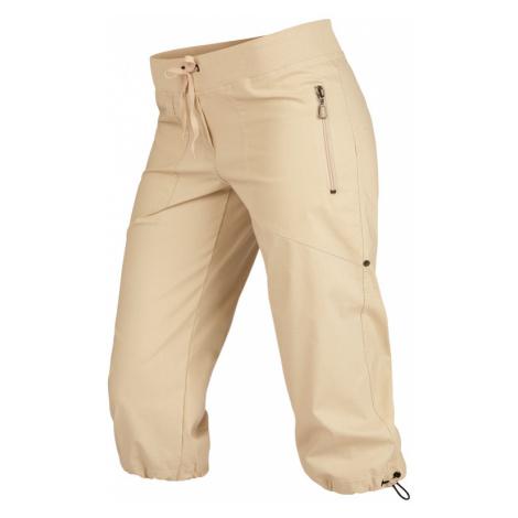 LITEX Kalhoty dámské v 3/4 délce bokové. 99583401 béžová