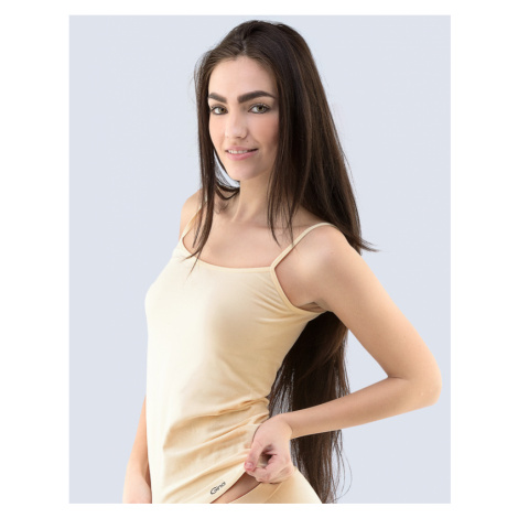 GINA Košilka s úzkými ramínky 08015-LBH tělová