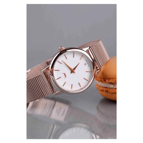 Dámské hodinky v růžovo-zlaté barvě Murry VUCH