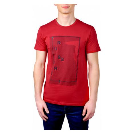 Trussardi Pánské triko T-Shirt Pure Cotton Regular Fit 52T00304-R145