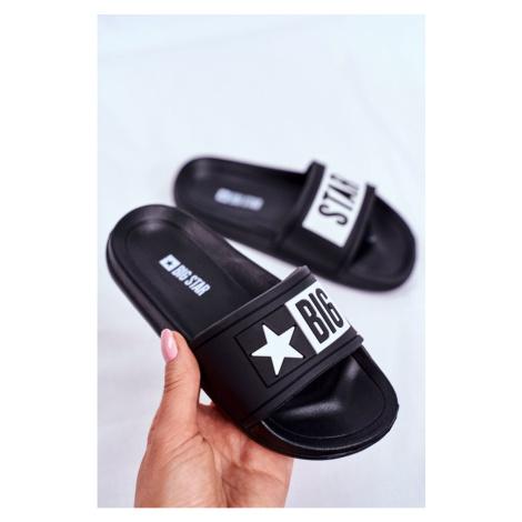 Children's Sliders Big Star Black DD374150 Kesi