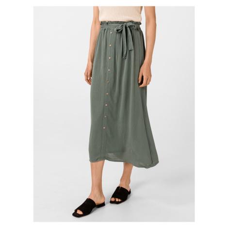 Naomi Paperbag Sukně Vero Moda Zelená