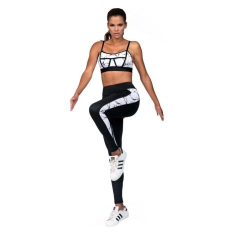 Fitness legíny Amy mramorované Lorin