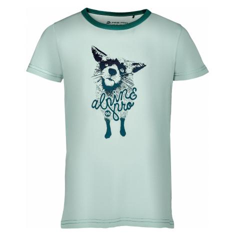 Dívčí triko Alpine Pro ROZENO 3 - tyrkysová