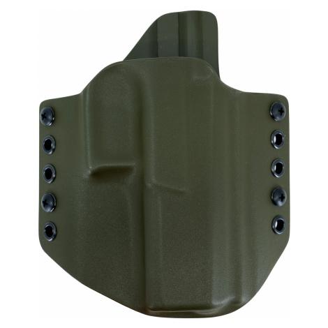 OWB CZ P-10 F - vnější pistolové pouzdro s polovičním SweatGuardem RH Holsters® – Olive Green