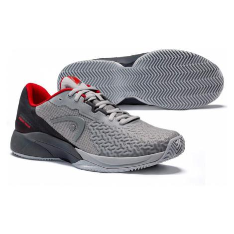 Pánská tenisová obuv Head Revolt Pro 3.5 Clay Grey/Red,